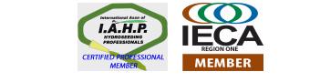 I.A.H.P. and I.E.C.A logo